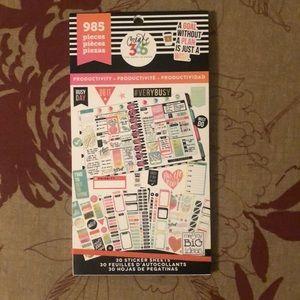 Happy Planner Sticker Book